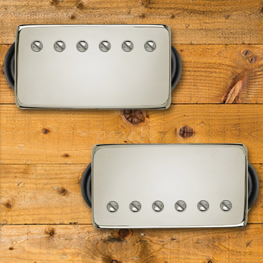 bare knuckle 39 pg blues 39 nickel humbucker peach guitars. Black Bedroom Furniture Sets. Home Design Ideas
