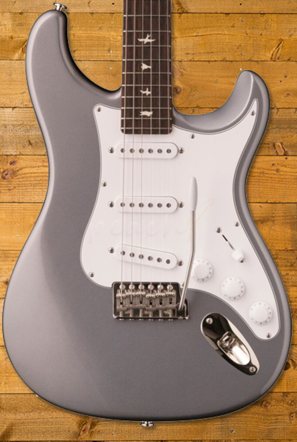 Prs John Mayer Silver Sky Tungsten Peach Guitars