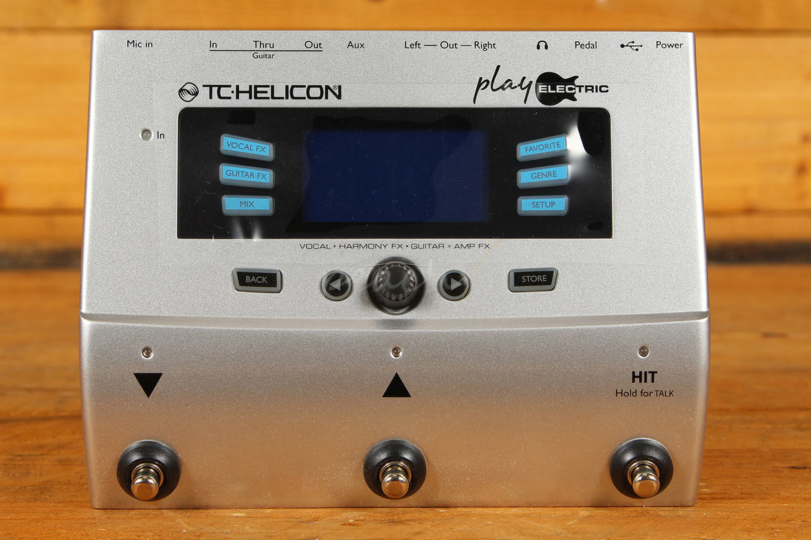 tc helicon play electric guitar vocal effects peach guitars. Black Bedroom Furniture Sets. Home Design Ideas