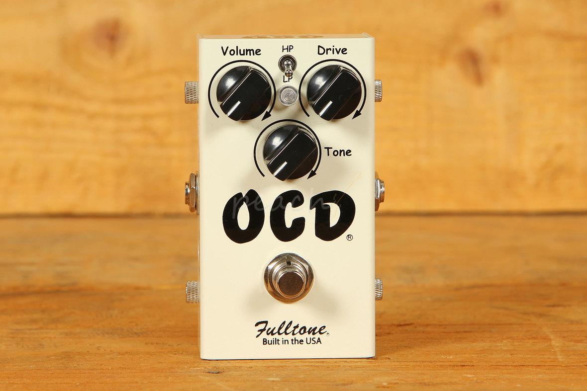 fulltone ocd v2 overdrive pedal peach guitars. Black Bedroom Furniture Sets. Home Design Ideas