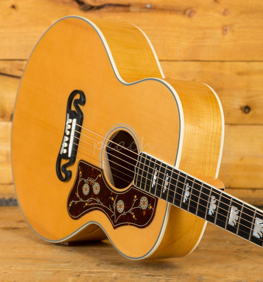 sigma sig gja sg200 an w fishman sonitone antique natural peach guitars. Black Bedroom Furniture Sets. Home Design Ideas