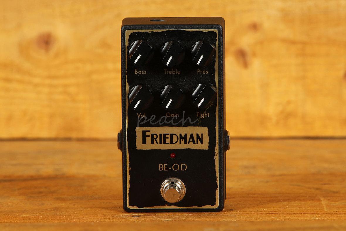friedman be brown eye overdrive pedal peach guitars. Black Bedroom Furniture Sets. Home Design Ideas