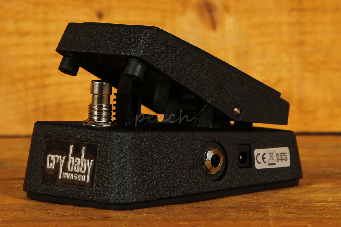 dunlop mini cry baby q wah wah peach guitars. Black Bedroom Furniture Sets. Home Design Ideas