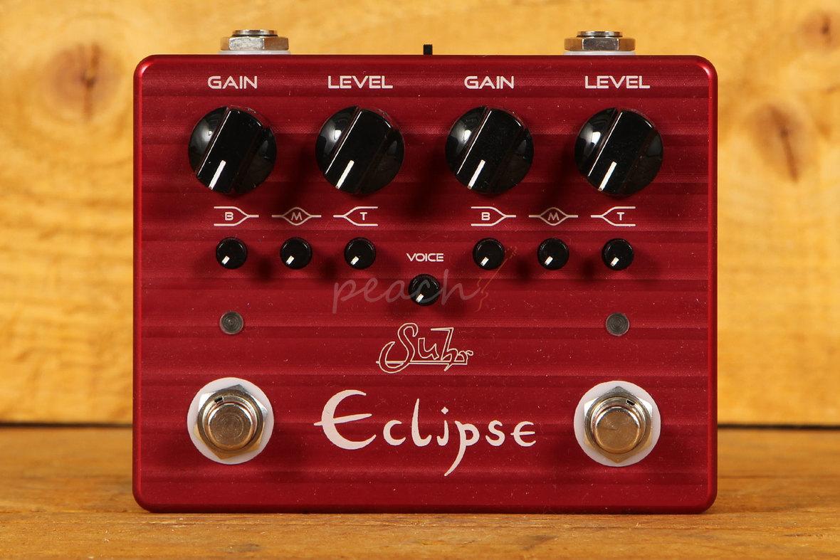 suhr eclipse dual overdrive distortion peach guitars. Black Bedroom Furniture Sets. Home Design Ideas
