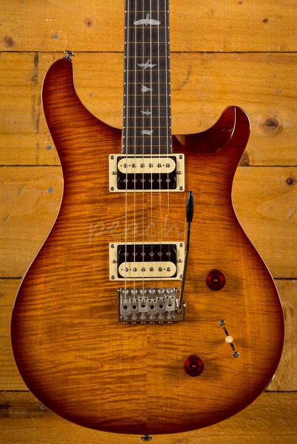 Prs Se 2018 Custom 22 Vintage Sunburst Peach Guitars