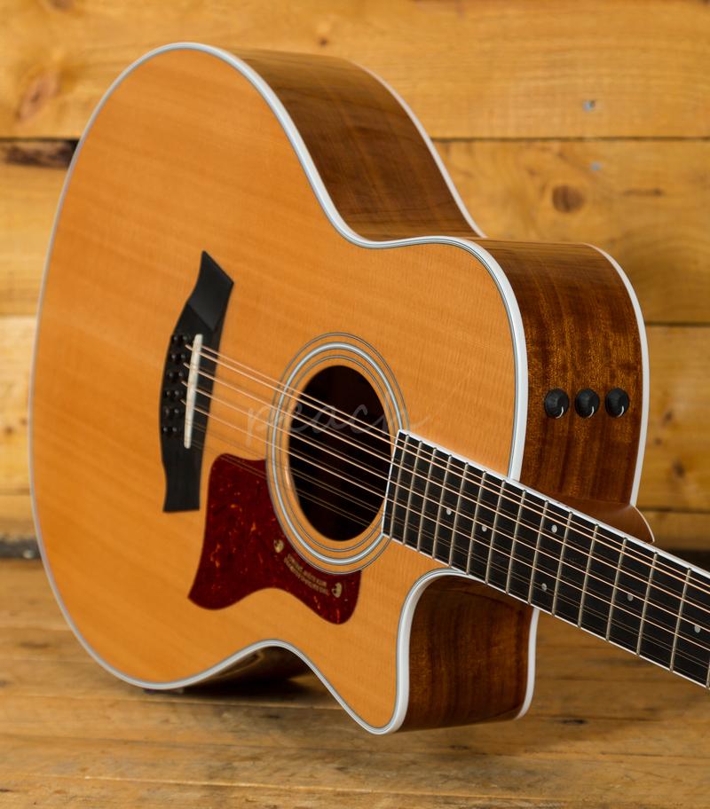 taylor 456ce 12 string peach guitars. Black Bedroom Furniture Sets. Home Design Ideas