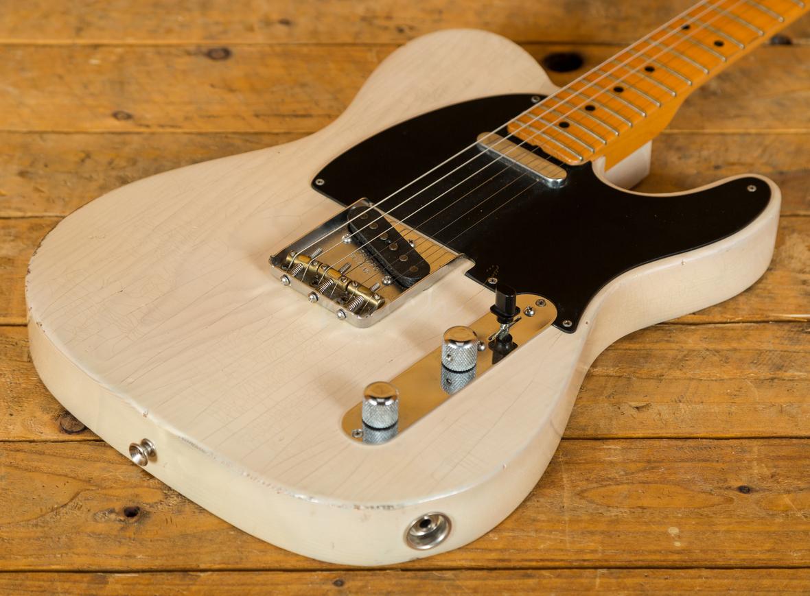 fender custom shop telecaster pro closet classic blonde used peach guitars. Black Bedroom Furniture Sets. Home Design Ideas