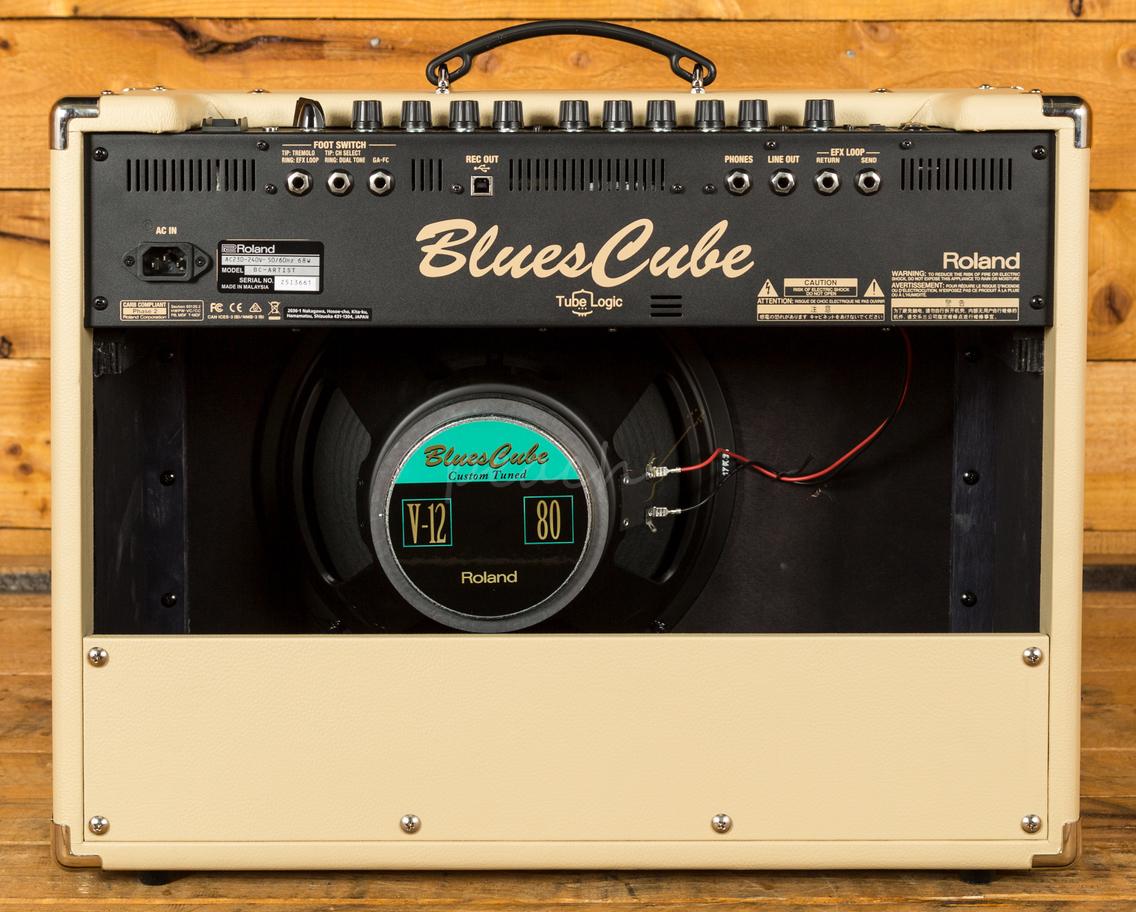 roland blues cube artist peach guitars. Black Bedroom Furniture Sets. Home Design Ideas