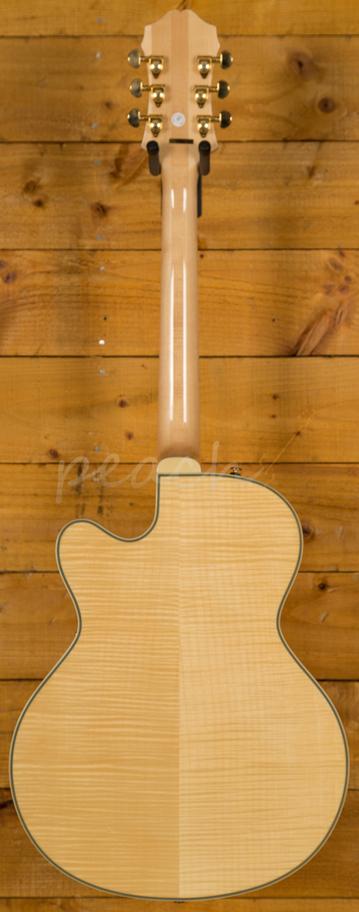 Epiphone Joe Pass Emperor Ii Natural Gold Peach Guitars
