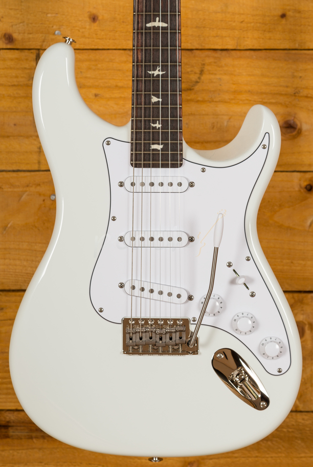 Prs John Mayer Silver Sky Frost Peach Guitars