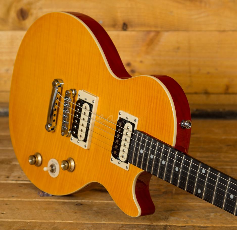 slash afd les paul special ii outfit peach guitars. Black Bedroom Furniture Sets. Home Design Ideas