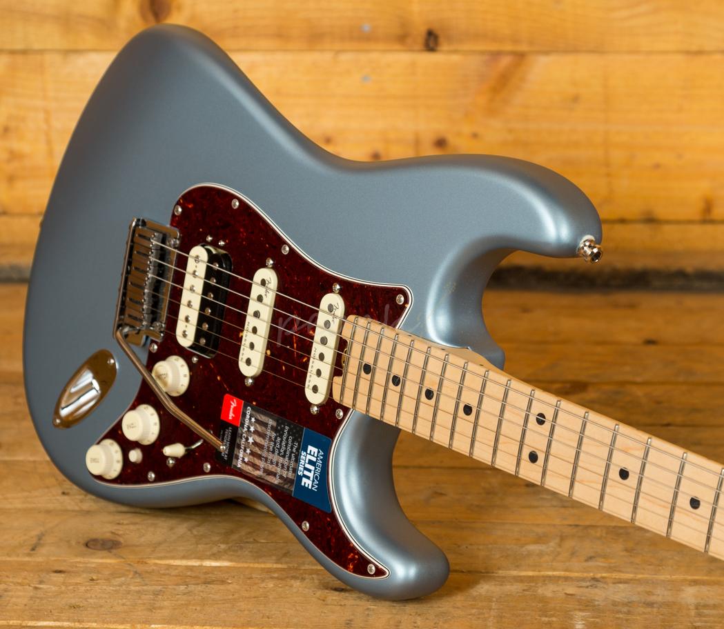 Duesenberg For Sale >> Fender American Elite Strat HSS Maple Satin Ice Blue ...