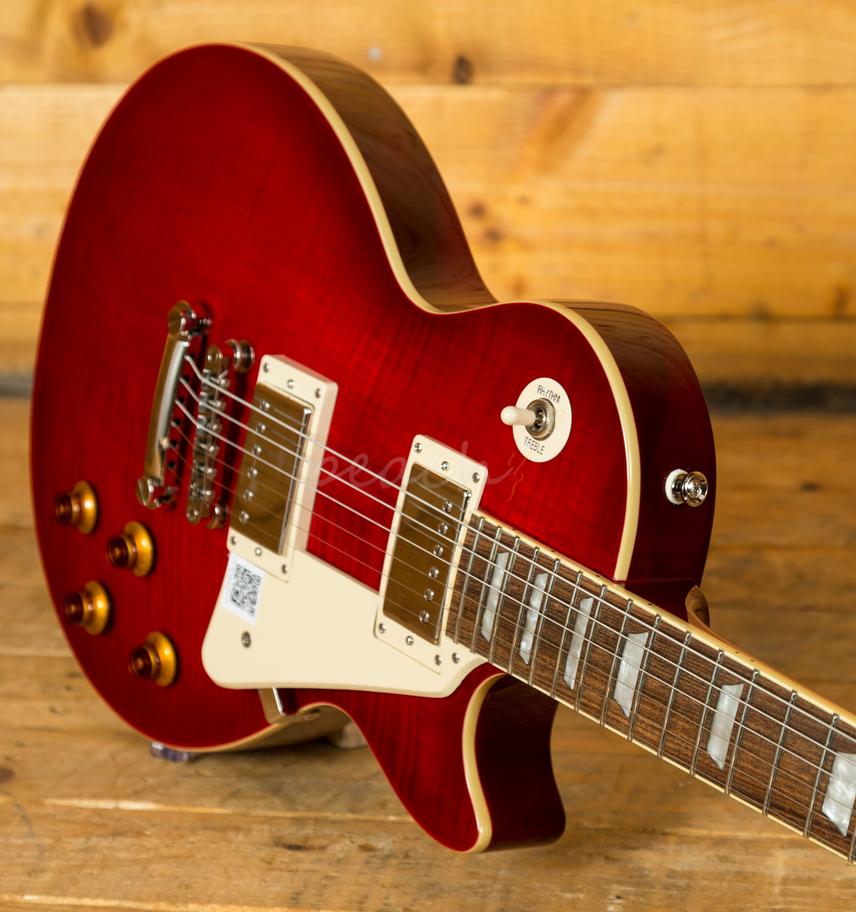 epiphone les paul standard plus top pro blood orange peach guitars. Black Bedroom Furniture Sets. Home Design Ideas
