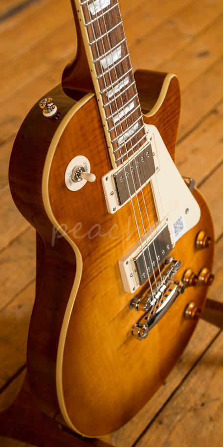 Taylor Guitars For Sale >> Epiphone Les Paul Standard Plus Top Pro Mohave Fade - Peach Guitars