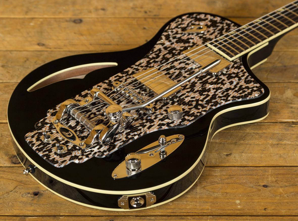 Duesenberg For Sale >> Duesenberg Julia Black - Peach Guitars