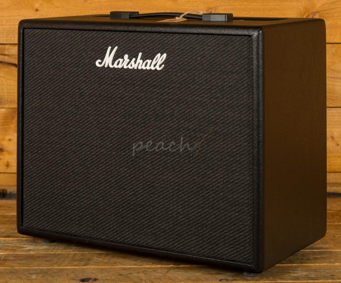 Marshall Code 50 Watt 1x12 Quot Combo Amp Peach Guitars