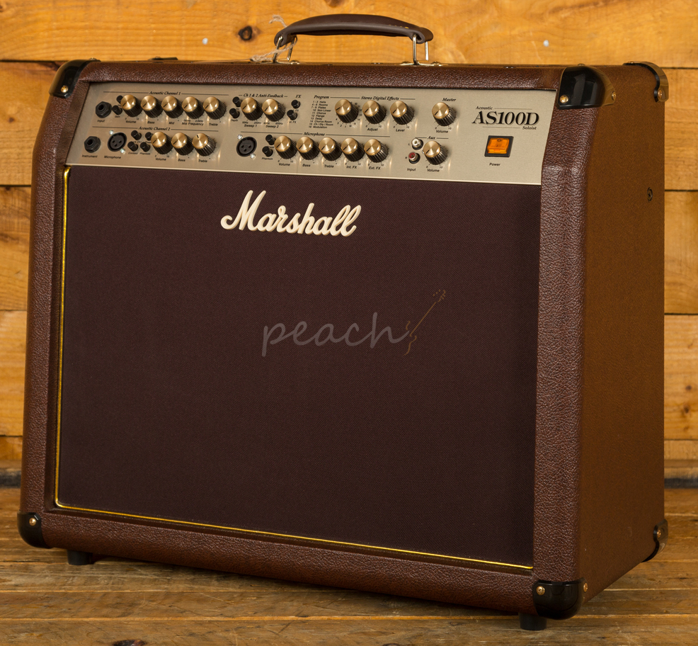 marshall as100d acoustic amplifier peach guitars. Black Bedroom Furniture Sets. Home Design Ideas