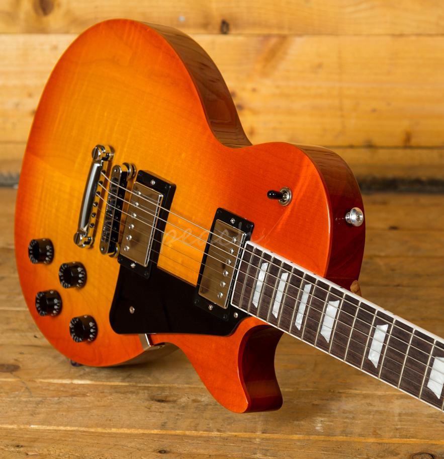 Gibson Usa 2019 Les Paul Studio Tangerine Burst Peach