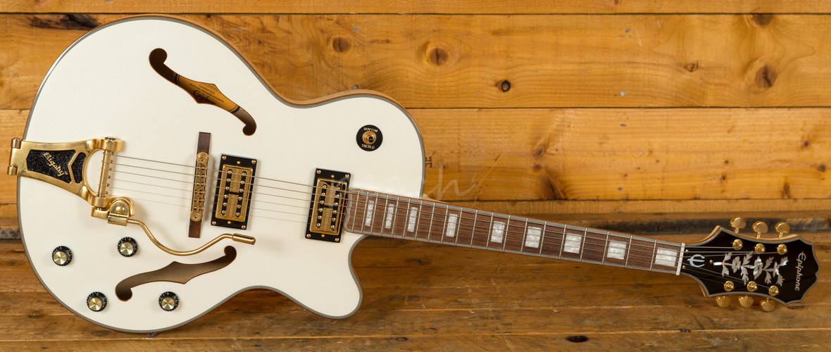 Epiphone Emperor Swingster - White Royale Reviews