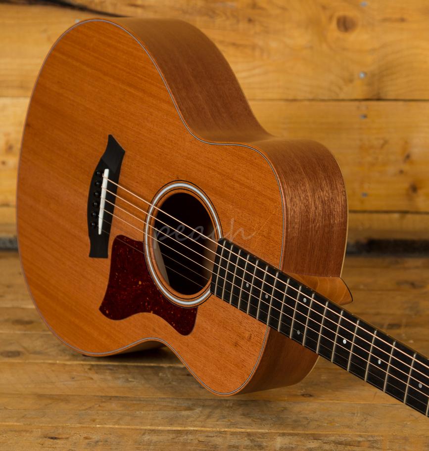 taylor gs mini mahogany acoustic travel peach guitars. Black Bedroom Furniture Sets. Home Design Ideas