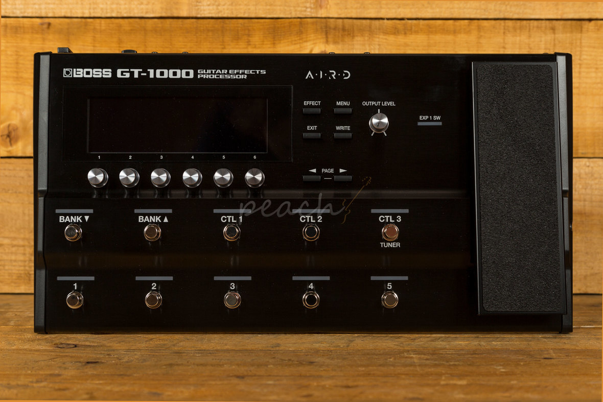 Taylor Guitars For Sale >> Boss GT-1000 - Guitar Effects Processor - Peach Guitars