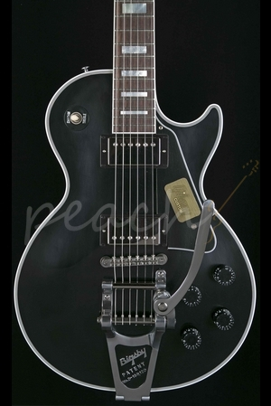 Gibson Custom Les Paul Custom Ebony VOS with Bigsby