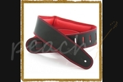 DSL GEG25-15-6 Genuine Leather 2.5 inch -Black/Red-