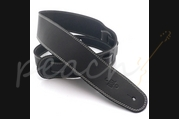 DSL SGE25-15-3 Leather 2.5inch Black with Beige Stitching