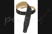 "Levy's 2.5"" Suede Leather Strap - Black MS26-BLK"