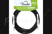 Fender 18.6ft Straight Instrument Cable Black