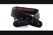 "DSL GEG-35-15-2 Leather 3.5"" Black with Brown backing"