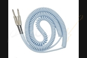 Lava Cable Retro Coil Curly Guitar Cable 20ft Right Angled to Straight