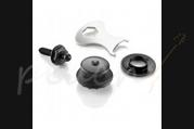 Loxx Nickel Strap Locks Black Chrome