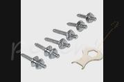 Loxx Nickel Strap Locks Screw Set