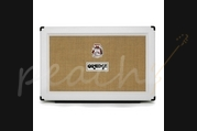 Orange 2x12 Closed Back Speaker Cabinet White