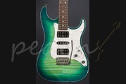Schecter USA Custom Shop Sunset Custom Caribbean Burst HSH