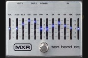 MXR Ten Band EQ Silver