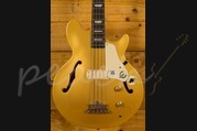 Epiphone Jack Casady Bass - Metallic Gold - Chrome Hardware
