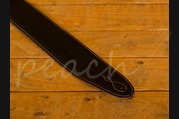 Leathergraft Pro Deluxe Reversable Guitar Strap - Rust Suede