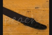 Leathergraft Cotton Web Guitar Strap - Black