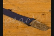 Leathergraft Cotton Web Guitar Strap - Blue