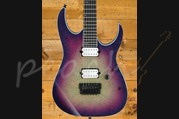 Ibanez 2018 Iron Label RGIX6FDLB - Northern Lights Burst