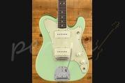Fender Parallel Universe Jazz-Tele RW Surf Green