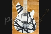 EVH Wolfgang Special - Maple Fingerboard - Black White Stripes