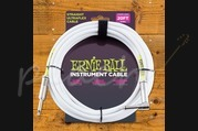 Ernie Ball Instrument Cable 20ft White