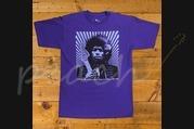 Fender Hendrix Kiss The Sky T-Shirt Purple L