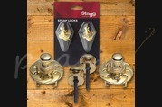Stagg Straplocks Gold