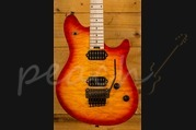 EVH Wolfgang Standard - Maple Fingerboard - Quilt Maple Top - Cherry burst