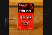 D'Addario Elliptical End Pin - Nickel