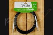 Fender 10ft Straight instrument cable black